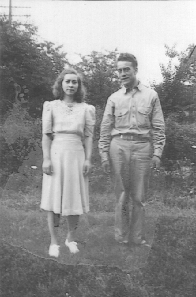 Sister and brother. Elzada Moore and Charles H Moore. Elzada was named after her Mother Elzada Dakin who died in 1920.